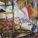 Marc Chagall, Paris Through the Window, 1913