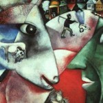 The first Chagall painting I ever saw
